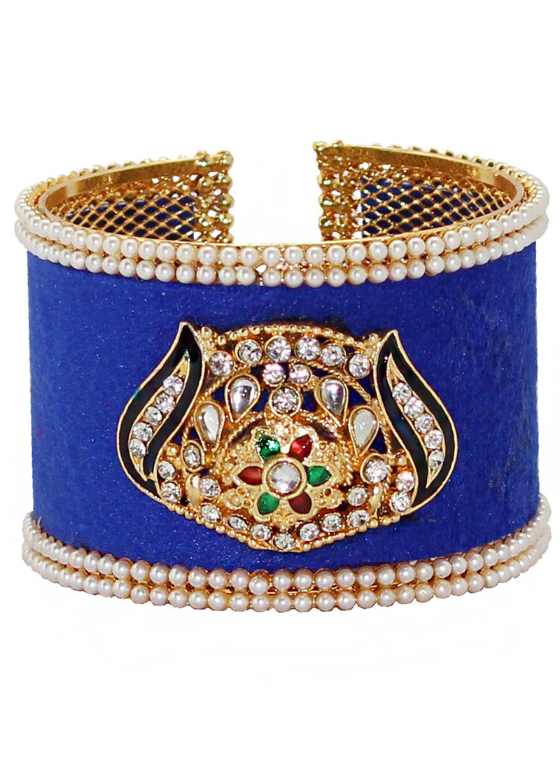 Blue Alloy Austrian Diamonds Bangle 65972