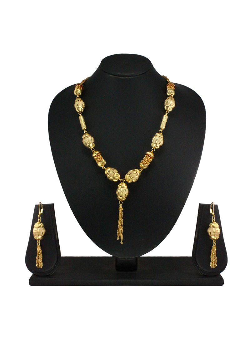 Golden Green Pendant Set 29620