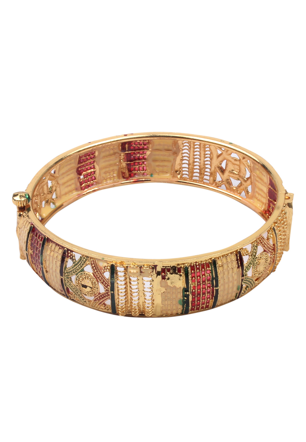 Golden Brass Bangle 157685