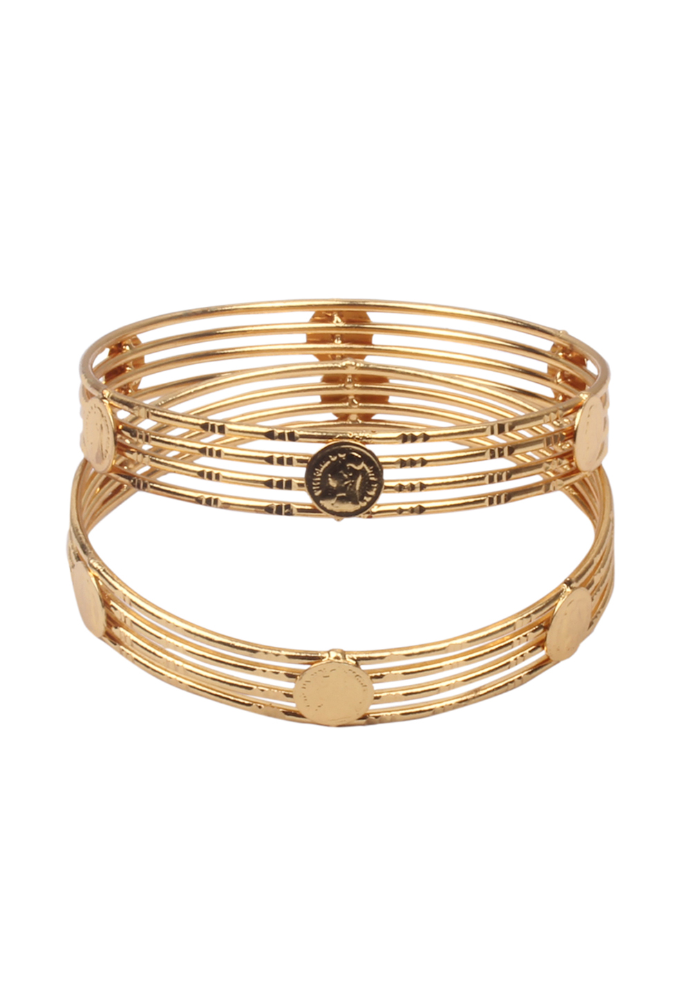 Golden Brass Bangle 157689