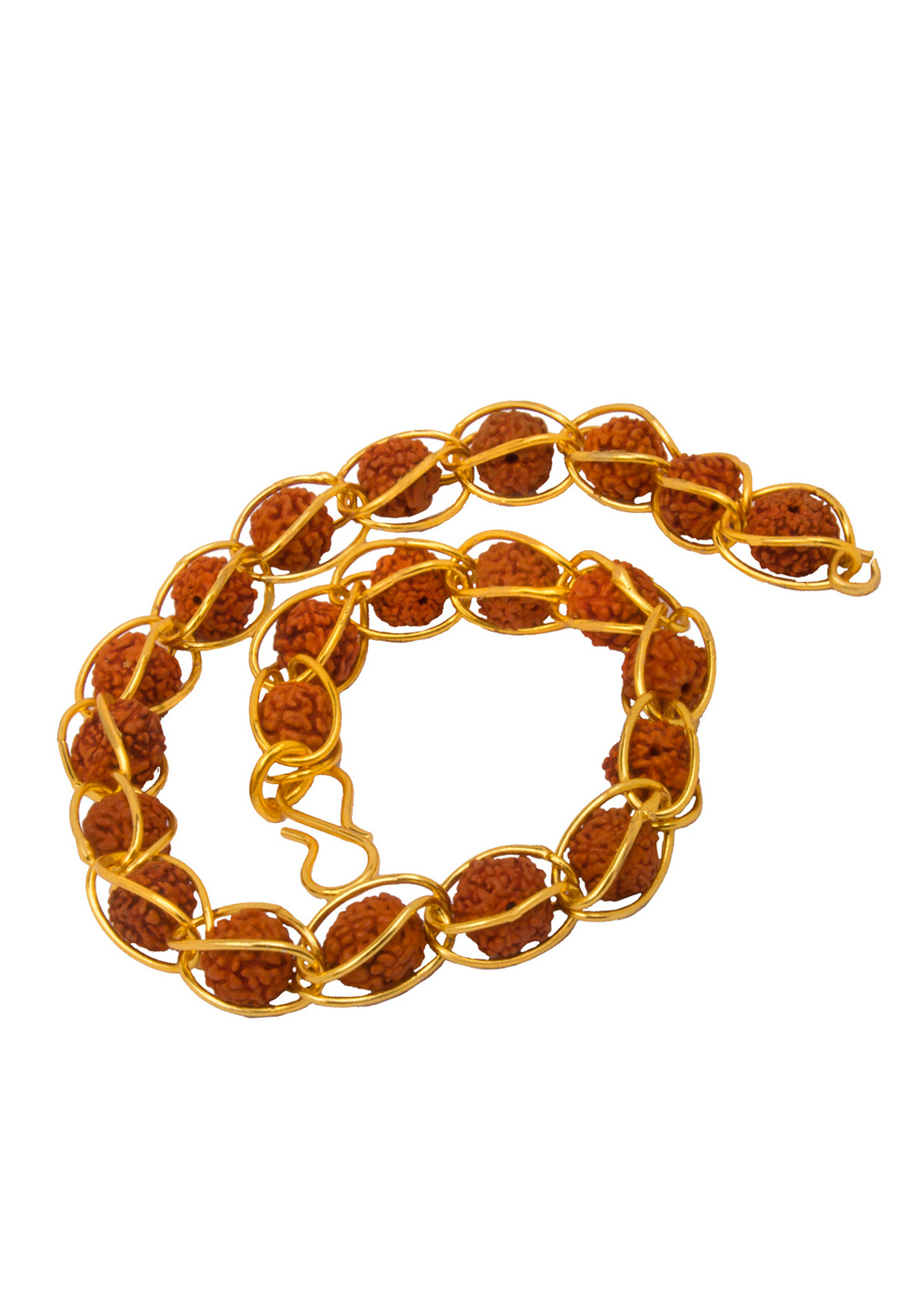 Golden Alloy Men Gold Plated Bracelet 175591