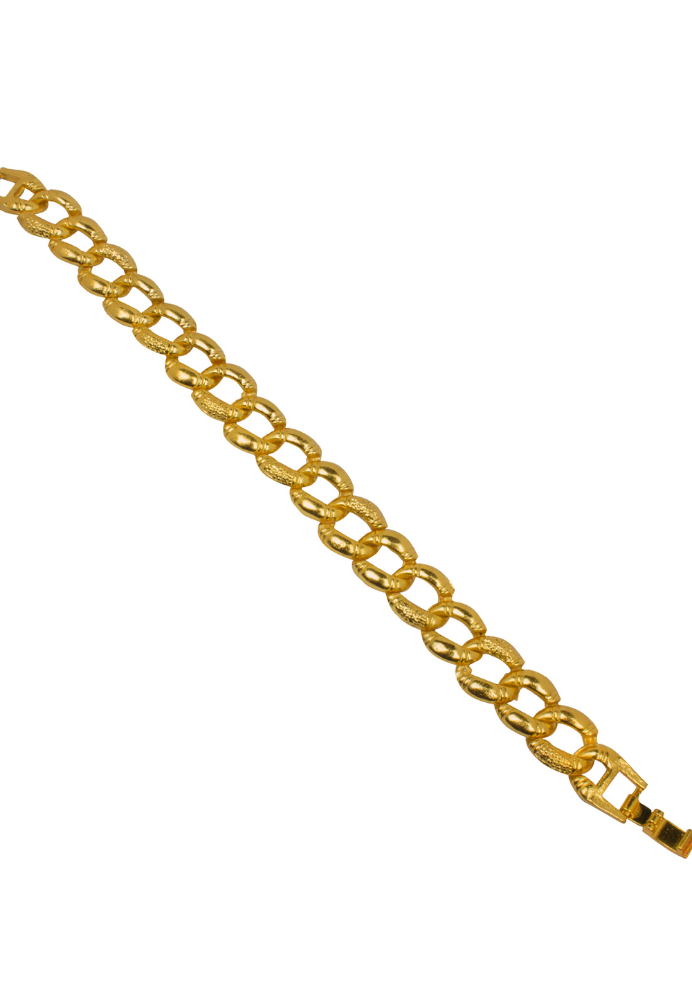 Golden Alloy Men Gold Plated Bracelet 175617