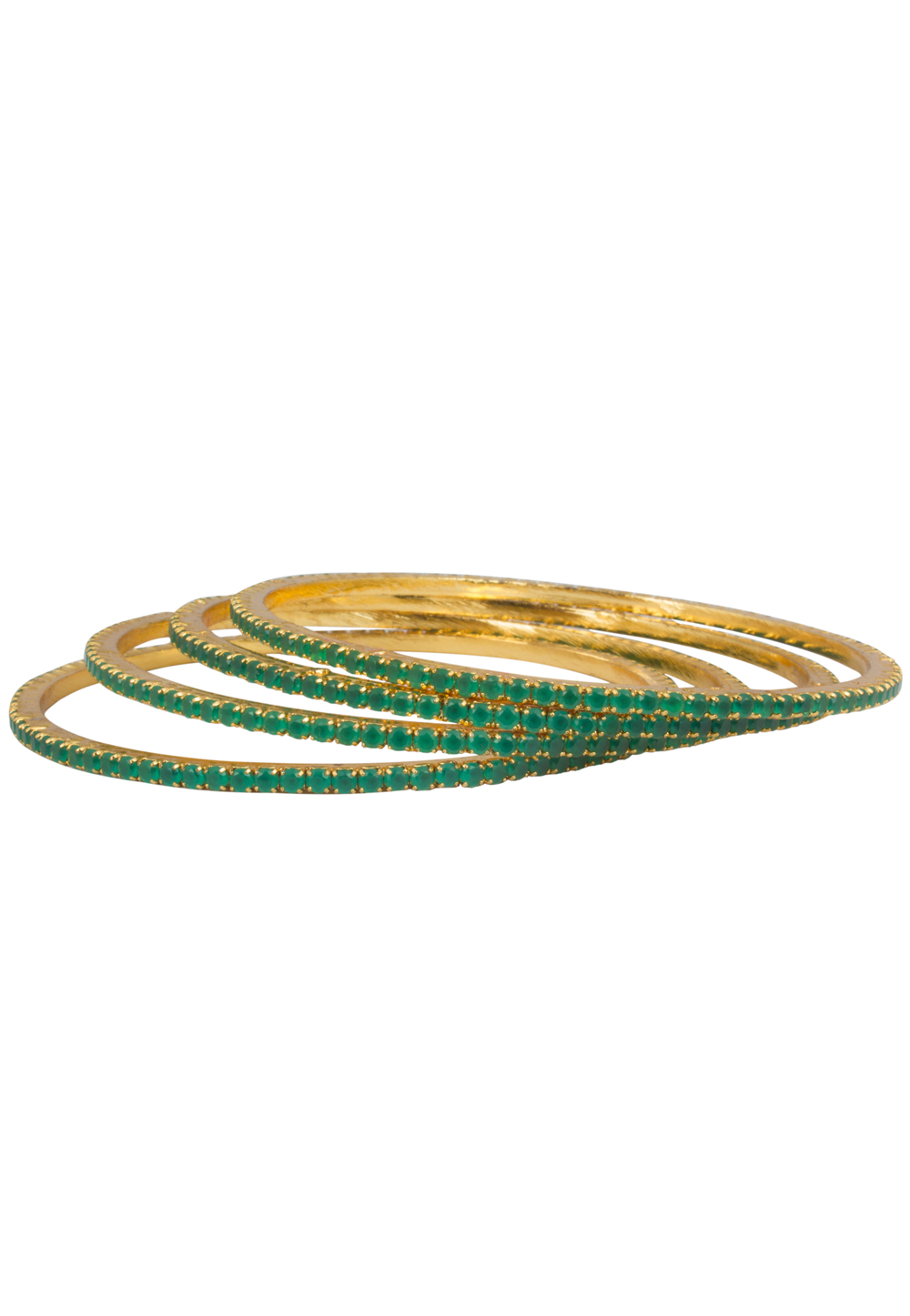 Golden Brass Bangle 175836