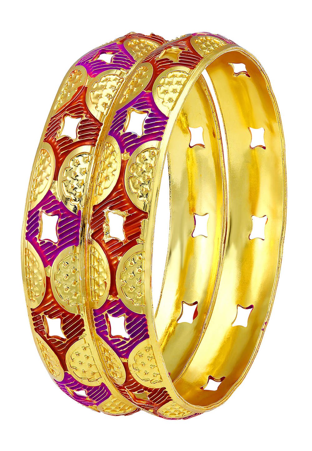 Golden Brass Bangle 191376