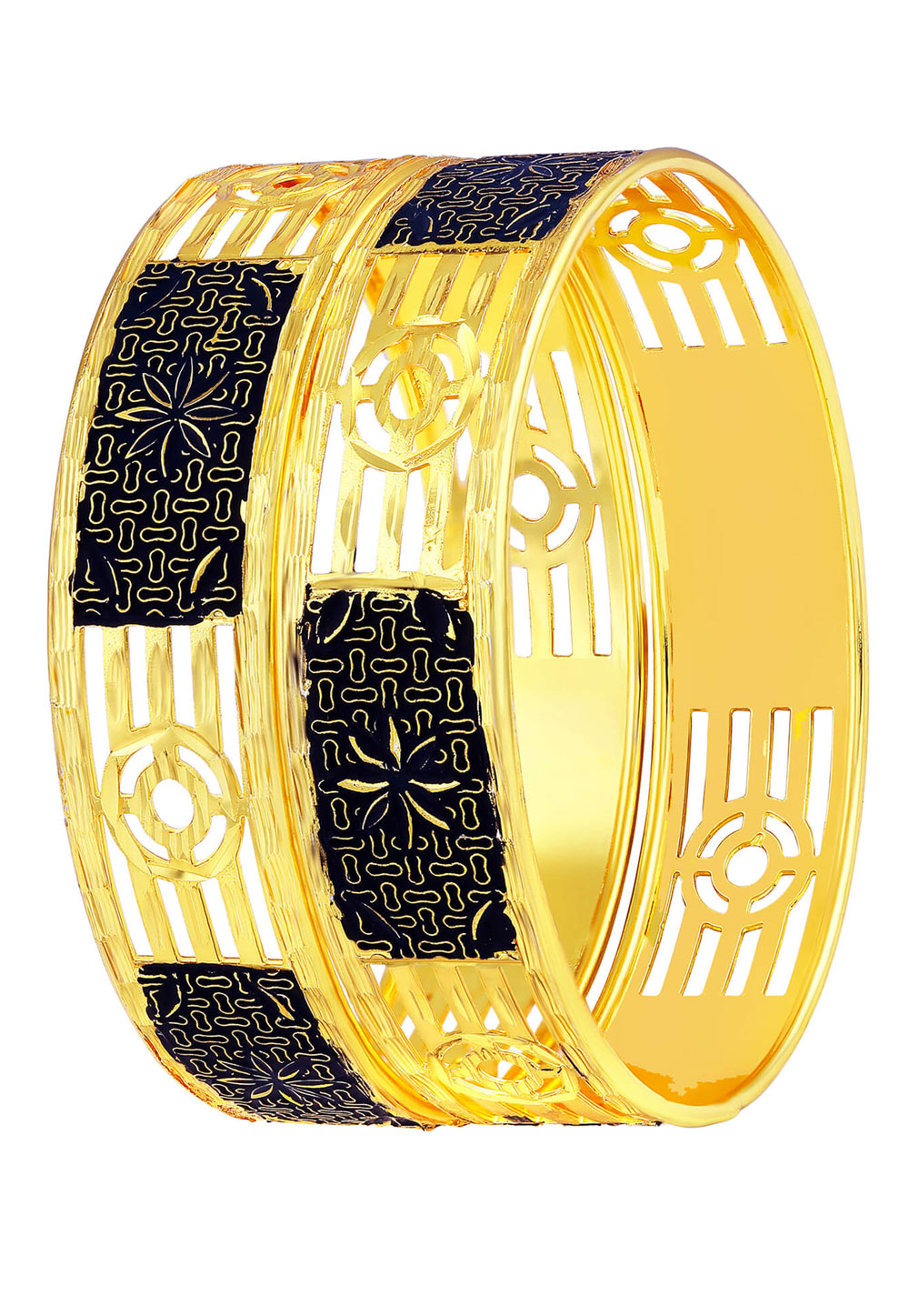 Black Brass Bangle 191381