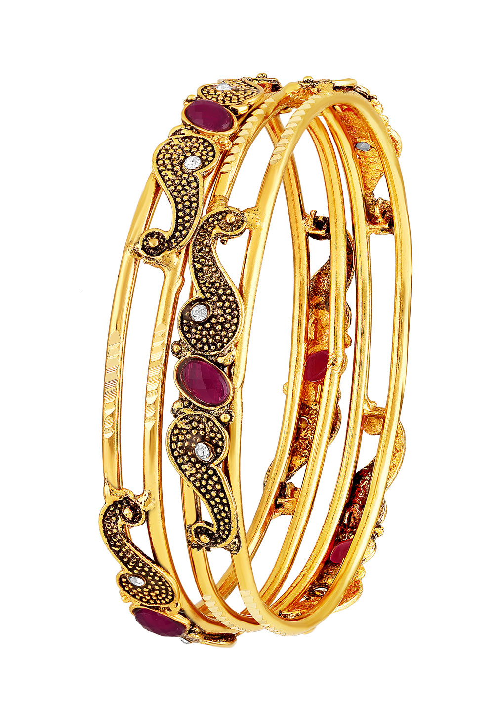Golden Brass Bangle 191399