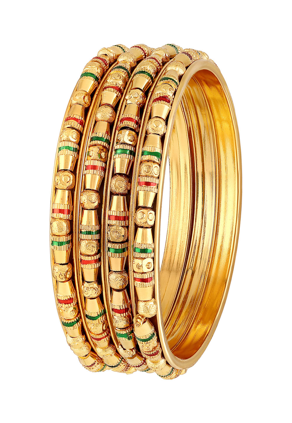 Golden Brass Bangle 191403