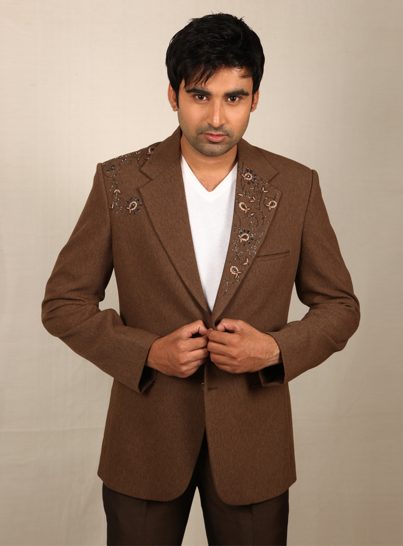 Brown Imported Jodhpuri Suit 128052