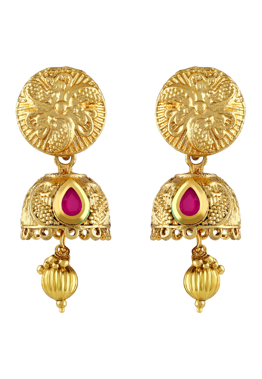 Pink Zinc Earrings 191335